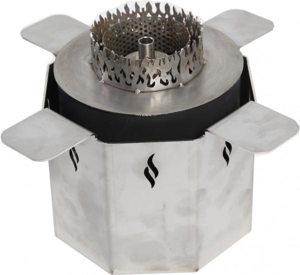 Cube/Barrel Ethanol Fackelbrenner