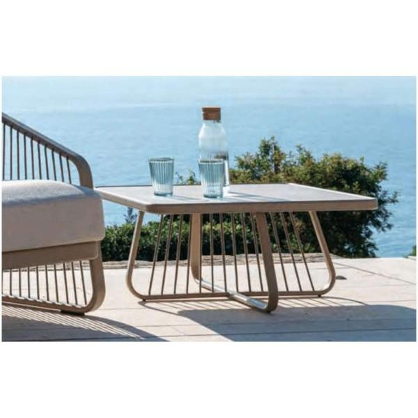 """CORO """"Sally"""" Designer Beistell-Tisch quadratisch"""