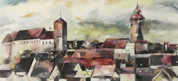 """Ölgemälde """"Landschaften"""" von Andrea Zimmermann"""