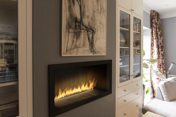 Indoor Feuerstelle mit Bioethanol von Planika