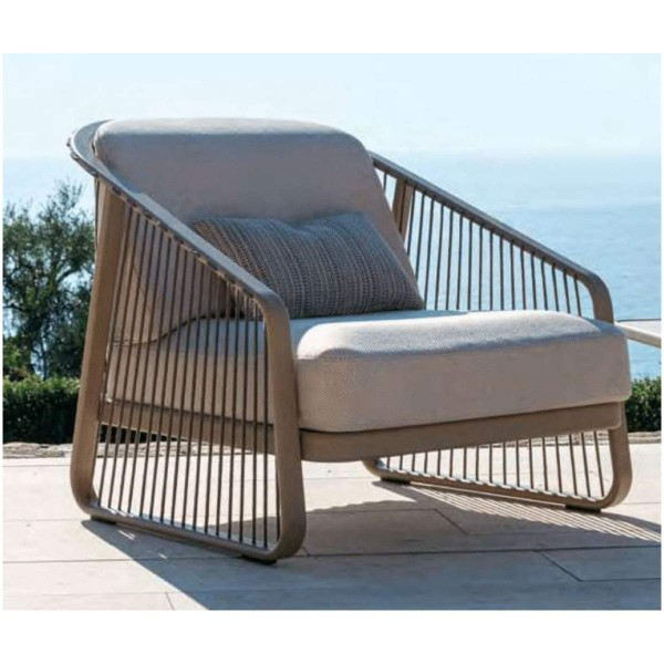 "CORO Outdoor Lounge Sessel ""Sally"" in beige"