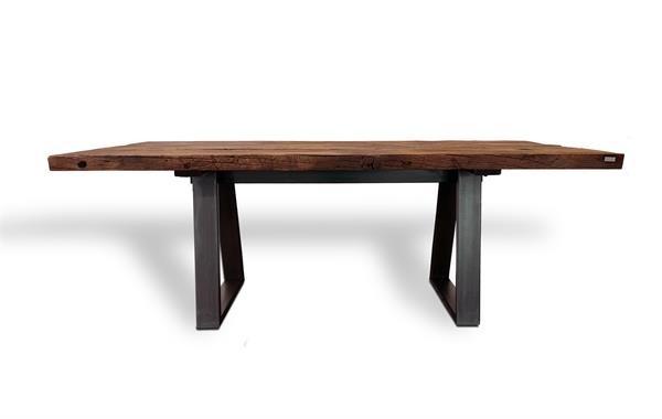 Tisch 182060 aus Schwarzstahl