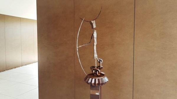 ums Metall Garten Kunstskulptur aus Rohstahl