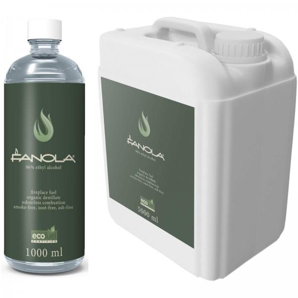 Fanola Bioethanol Biofuel für Planika Ethanolkamine