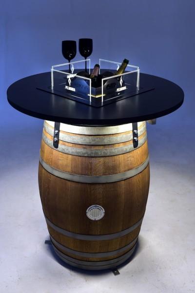 Barrel Getränke Einsatz inkl. halbhohe Scheiben im Set