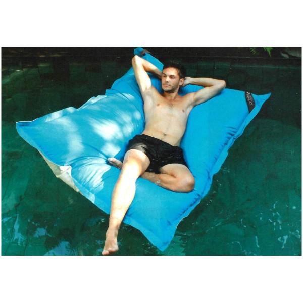 Pool XXL Kissen Drift blau Schwimmkissen 180x120cm